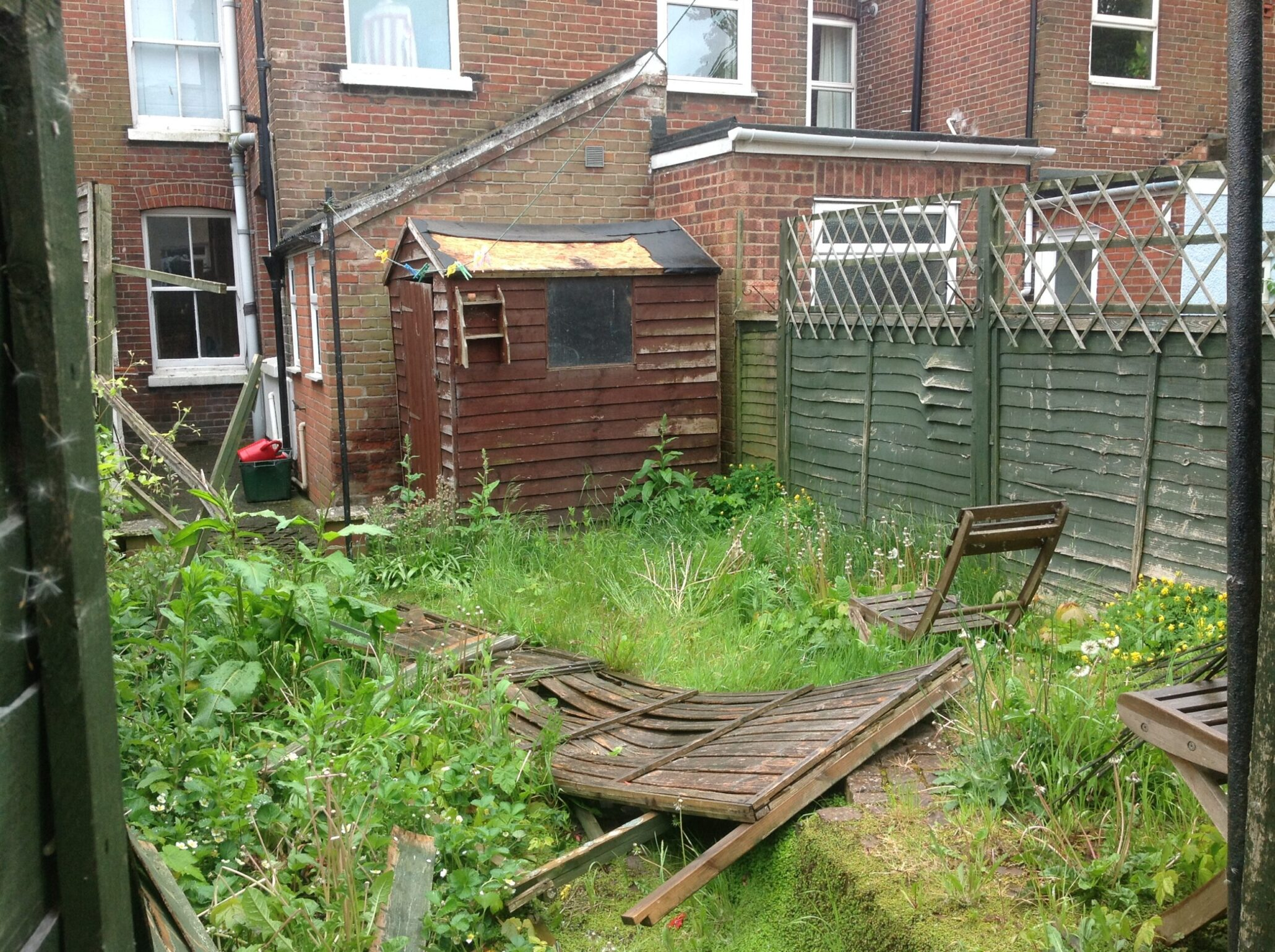 Norwich garden fence replacement.