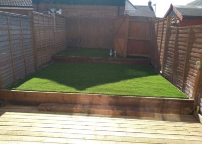 Artificial grass and decking fitted Norwich nr4