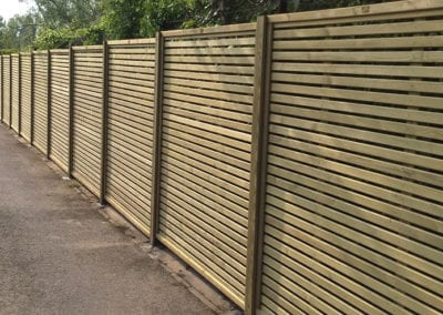 Fence and timber deck installation Norwich